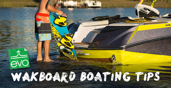 wakeboard boating tips
