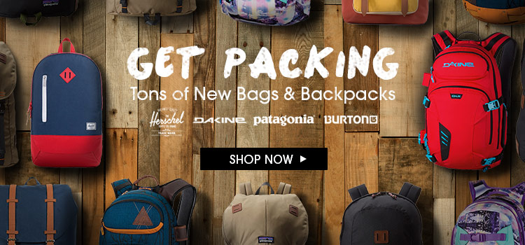 Get Packing New Backpacks and Bags
