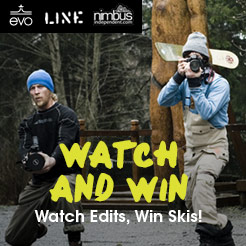 Watch Nimbus Edits and Win Line Skis!