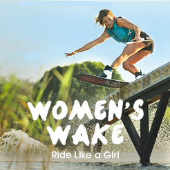 Women's Wake - Ride Like A Girl