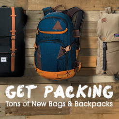Get Packing - Tons of New Bags and Backpacks