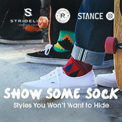 Show Some Sock - Styles You Won't Want To Hide