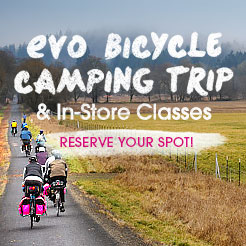 evo Bicycle Camping Trip