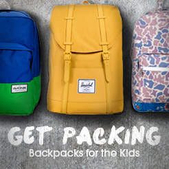 Get Packing - Kids Backpacks for the Kids
