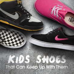 Kids Shoes - Shoes That Can Keep Up With Them
