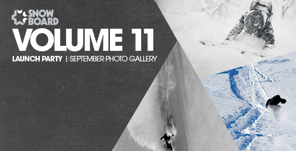 Snowboard Magazine Launch Gallery