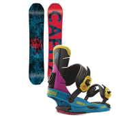 CAPiTA Indoor Survival Snowboard + Union Flite Bindings 2015