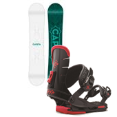 CAPiTA Magnolia Snowboard + Union Flite Lady Bindings - Women's 2015