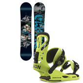 CAPiTA Outdoor Living Snowboard + Union Flite Pro Bindings 2015
