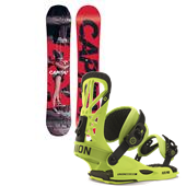 CAPiTA Defenders Of Awesome Snowboard + Union Flite Pro Bindings 2015