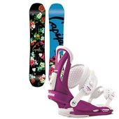 CAPiTA Birds Of A Feather Snowboard + Union Rosa Bindings - Women's 2015