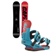 CAPiTA NAS Snowboard + Union Contact Bindings 2015