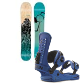 CAPiTA Charlie Slasher Snowboard + Union Force Bindings 2015