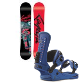 CAPiTA The Outsiders Snowboard + Union Force Bindings 2015
