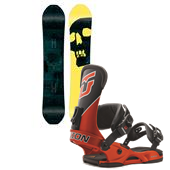 CAPiTA The Black Snowboard Of Death Snowboard + Union Factory Bindings 2015