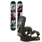CAPiTA Totally FK'n Awesome Snowboard + Union T. Rice Bindings 2015