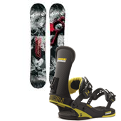 CAPiTA Totally FK'n Awesome Snowboard + Union Charger Bindings 2015