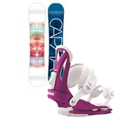 CAPiTA Space Metal Fantasy Snowboard + Union Rosa Bindings - Women's 2015