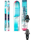 Salomon Q-96 Lumen Skis - Women's + Z12 Ski Bindings 2015