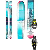 Salomon Q-96 Lumen Skis - Women's + STH2 13 Ski Bindings 2015