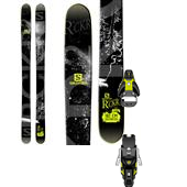 Salomon Rocker2 108 Skis + STH2 13 Ski Bindings 2015