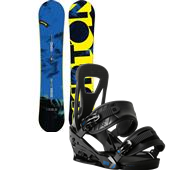 Burton Ripcord Snowboard + Freestyle Bindings 2015
