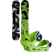 Burton Blunt Snowboard +  Custom Bindings 2015