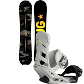 Burton Nug Snowboard + Mission Bindings 2015