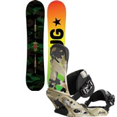 Burton Nug Flying V Snowboard + Mission Bindings 2015