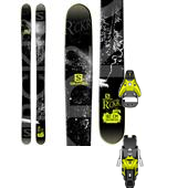 Salomon Rocker2 108 Skis + STH2 16 Ski Bindings 2015