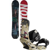 Burton Process Snowboard + Mission Bindings 2015