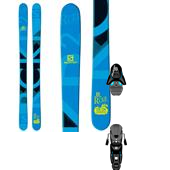 Salomon Rocker2 100 Skis + Z12 Ski Bindings 2015