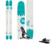Rossignol Savory 7 Skis - Women's + FKS 120 Ski Bindings 2015