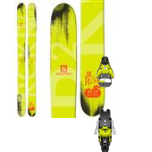Salomon Rocker2 122 Skis + STH2 16 Ski Bindings 2015