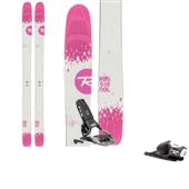 Rossignol Saffron 7 Skis - Women's + FKS 120 Ski Bindings 2015