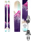 Salomon Q-103 Stella Skis - Women's + Z10 Ti Ski Bindings - Women's 2015