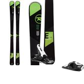 Rossignol Temptation 100 Skis - Women's + Axium 100 Ski Bindings 2015