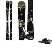 Rossignol Temptation 88 Skis - Women's + Axium 100 Ski Bindings 2015