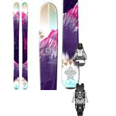 Salomon Q-103 Stella Skis - Women's + STH2 13 Ski Bindings 2015
