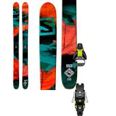 Salomon Q-115 Skis + STH2 13 Ski Bindings 2015
