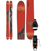 Line Skis Magnum Opus Skis + Atomic STH2 16 Ski Bindings 2015