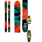 Salomon Q-115 Skis + STH2 16 Ski Bindings 2015