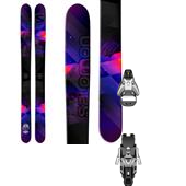 Salomon Rockette Skis - Women's + STH2 13 Ski Bindings 2015