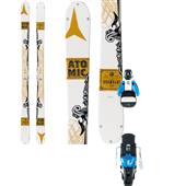 Atomic Infamous Skis + STH2 13 Ski Bindings 2015