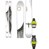 Line Skis Mr Pollard's Opus Skis + Salomon STH2 16 Ski Bindings 2015