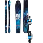 Atomic Theory Skis + STH2 13 Ski Bindings 2015