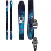 Atomic Theory Skis + Salomon STH 12 Oversize Ski Bindings 2015