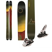 Line Skis Sir Francis Bacon Skis + Marker Griffon Ski Bindings 2015