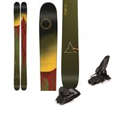 Line Skis Sir Francis Bacon Skis + Marker Jester Ski Bindings 2015