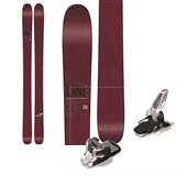 Line Skis Supernatural 108 Skis + Marker Griffon Ski Bindings 2015
